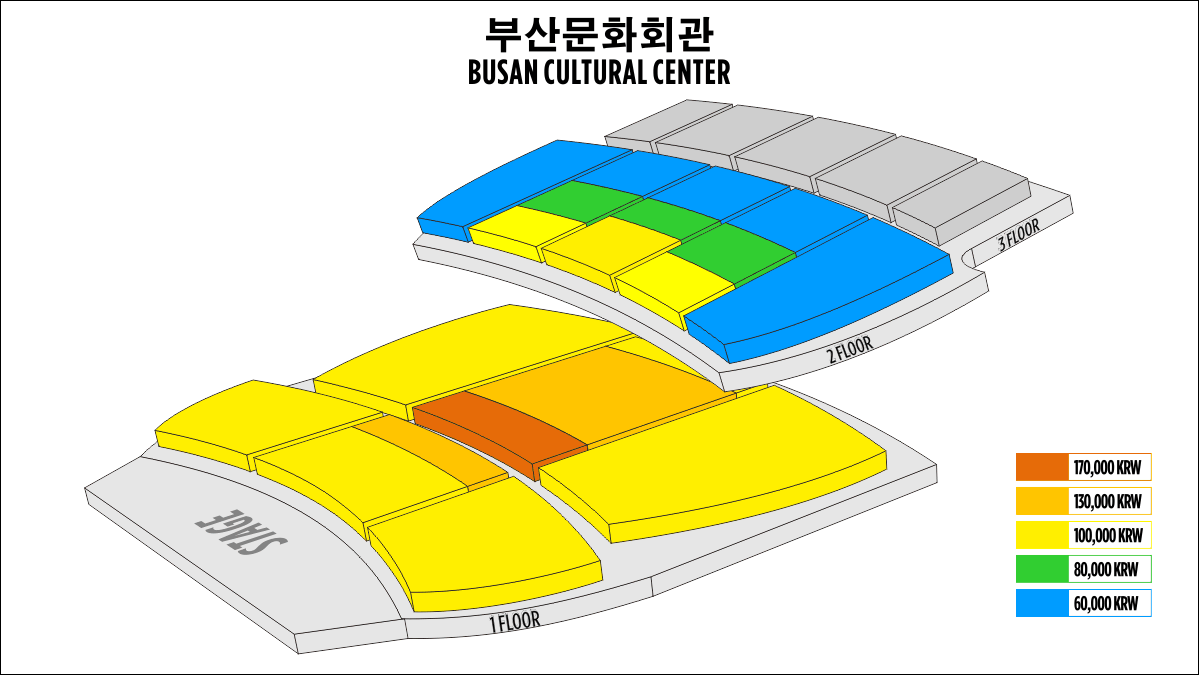 Shen Yun Busan Busan Cultural Center Seating Chart