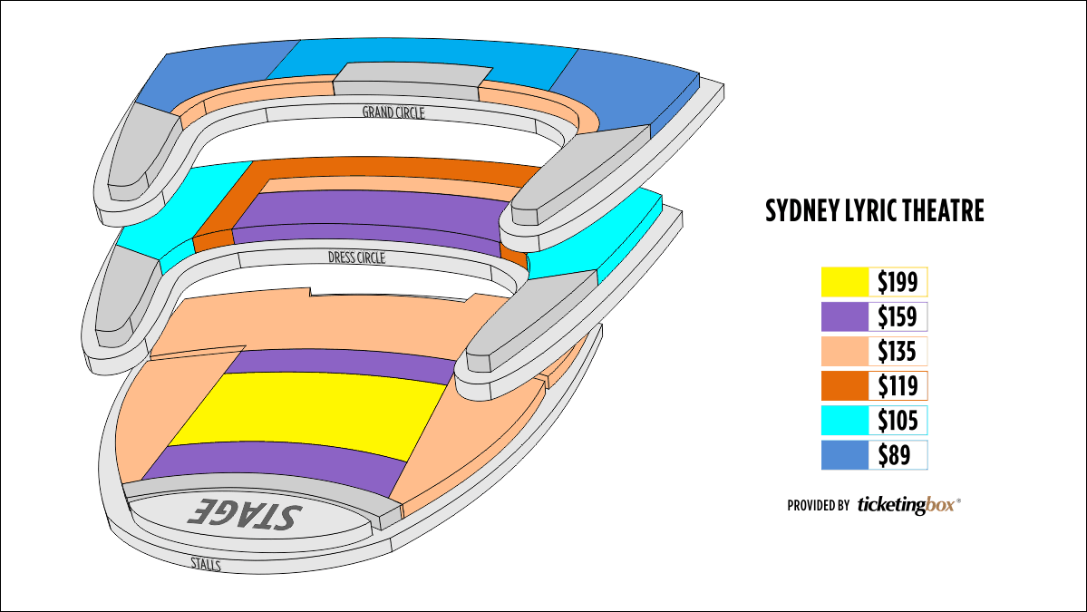 Shen Yun Sydney Sydney Lyric Theatre Seating Chart