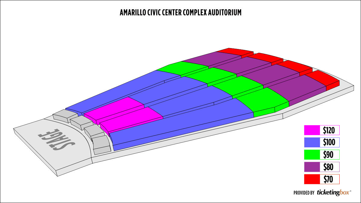 Shen Yun Amarillo Civic Center Complex Auditorium Seating Chart