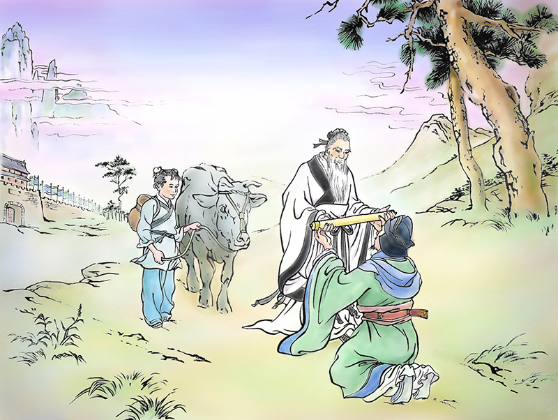 The Story of Lao-Tzu and the Tao Te Ching - by the Man Who