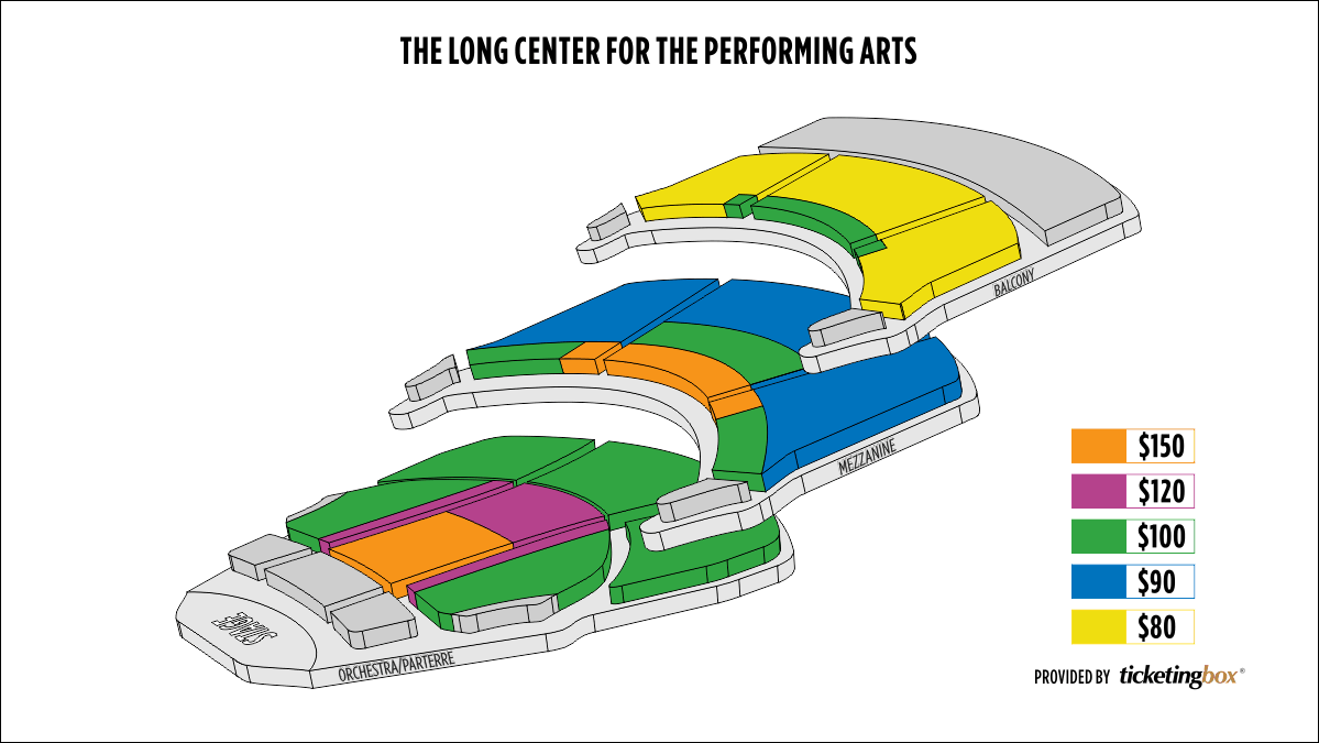 Shen Yun Austin The Long Center for the Performing Arts Seating Chart