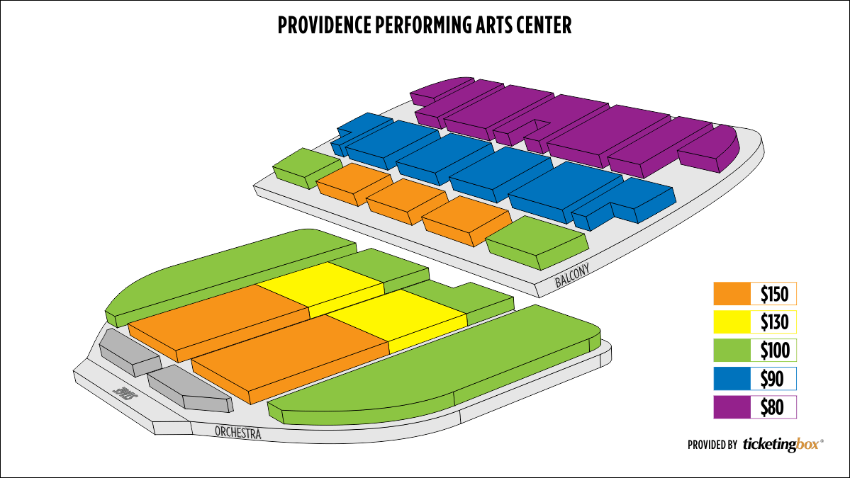 Shen Yun Providence Providence Performing Arts Center Seating Chart