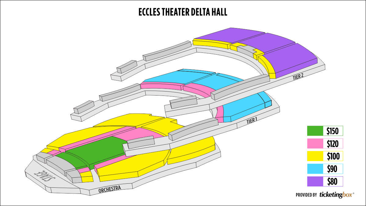 Shen Yun Salt Lake City Eccles Theater Seating Chart