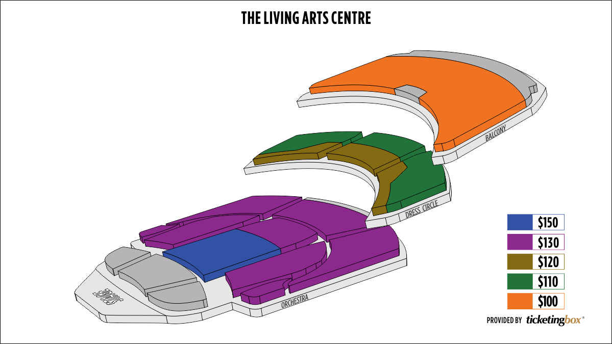 Shen Yun Mississauga Living Arts Centre Seating Chart