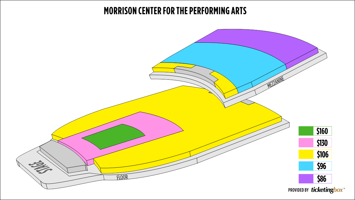Shen Yun Boise Morrison Center For The Performing Arts Seating Chart