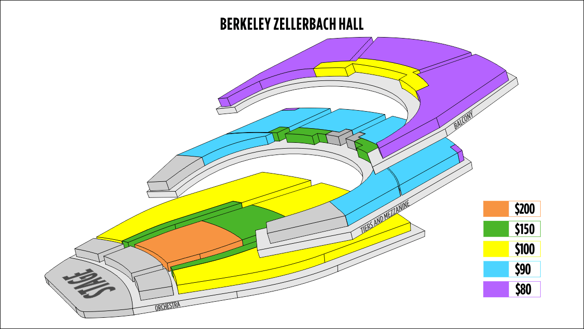 Shen Yun Berkeley Berkeley Zellerbach Hall Seating Chart