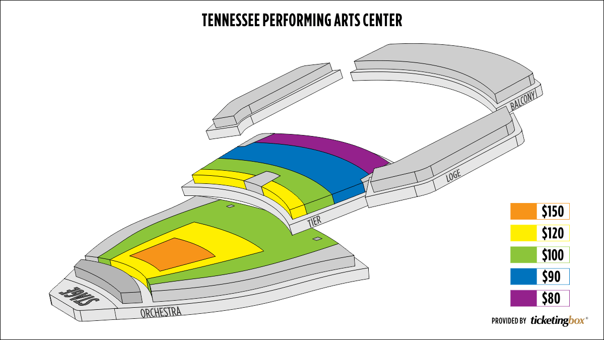 Shen Yun Nashville Tennessee Performing Arts Center Seating Chart