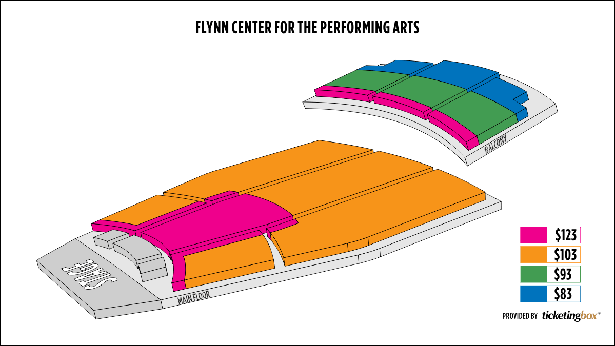 Shen Yun Burlington Flynn Center For The Performing Arts Seating Chart
