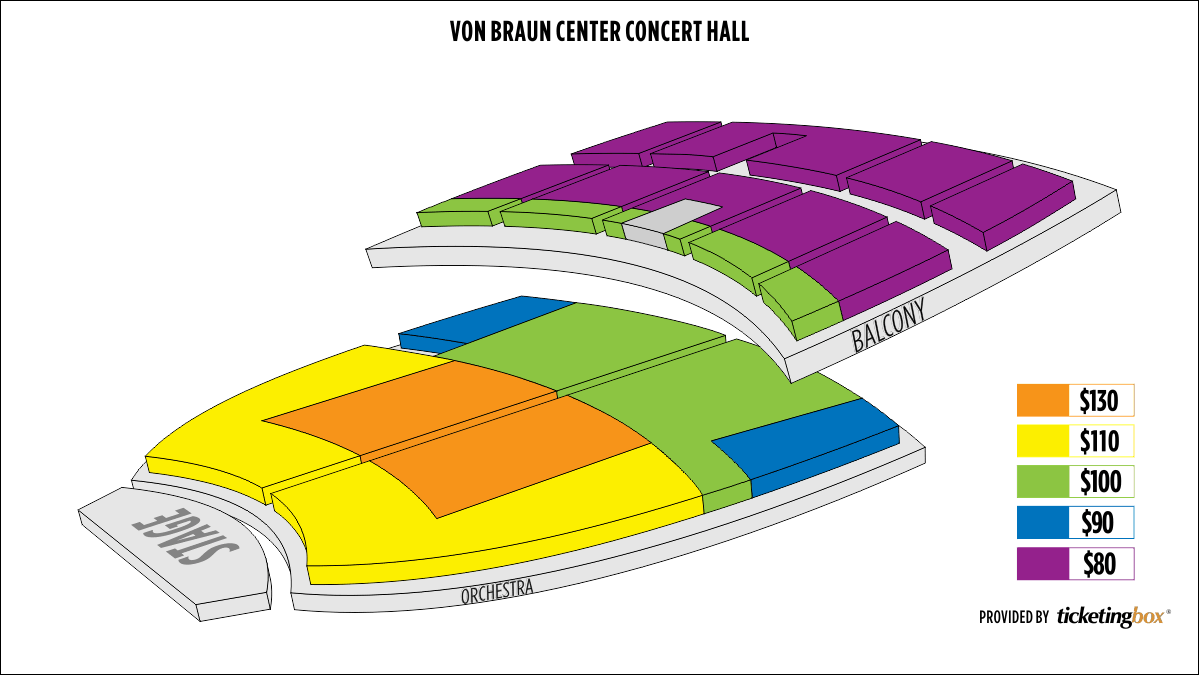 Shen Yun Huntsville Von Braun Center Concert Hall Seating Chart
