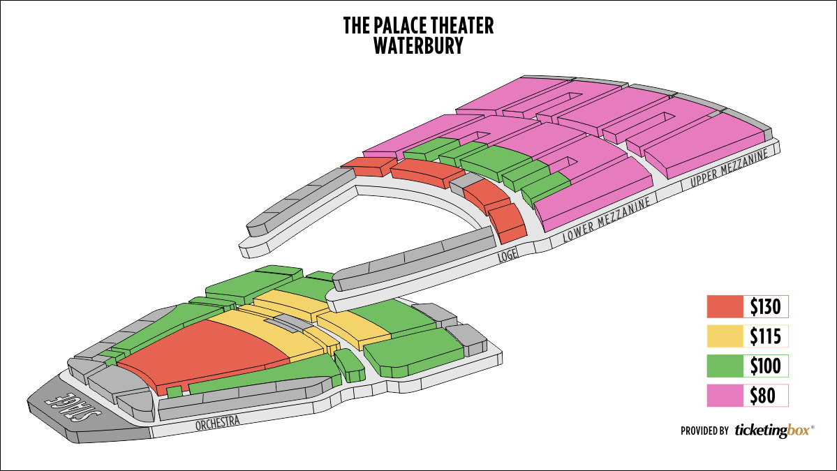 Seating Chart Palace Theater