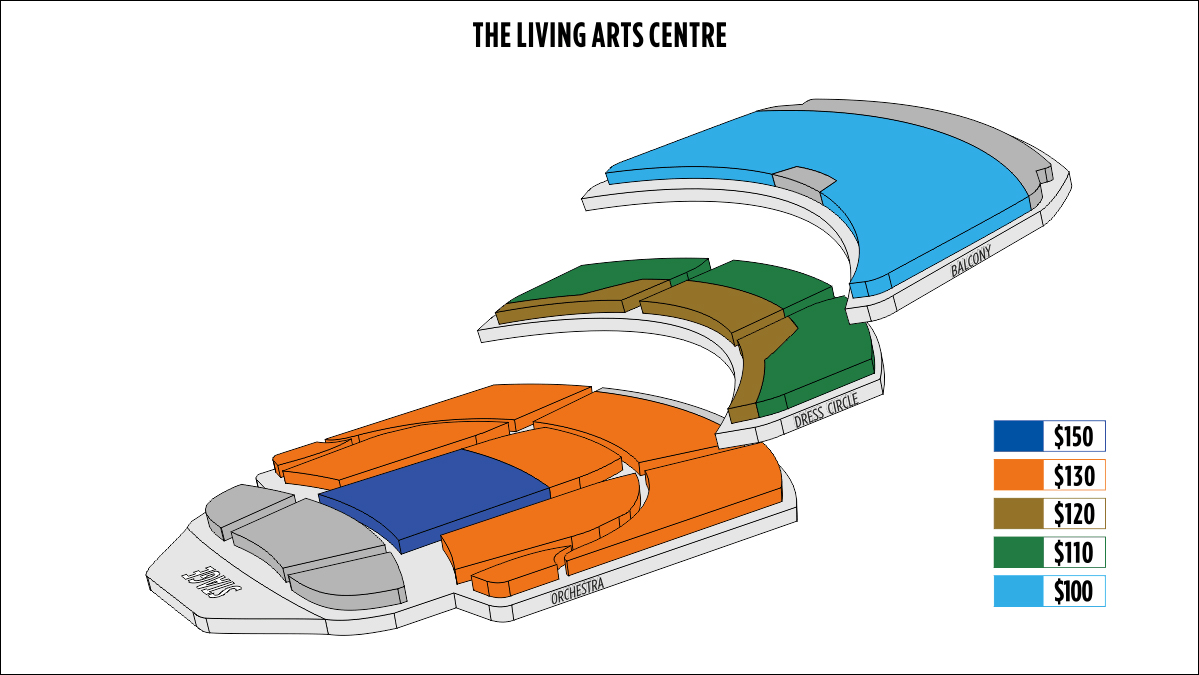 Shen Yun Mississauga Living Arts Centre Seating Chart