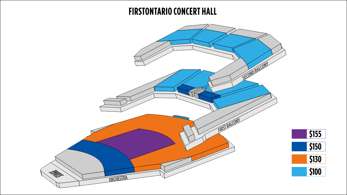 Shen Yun Hamilton FirstOntario Concert Hall Seating Chart
