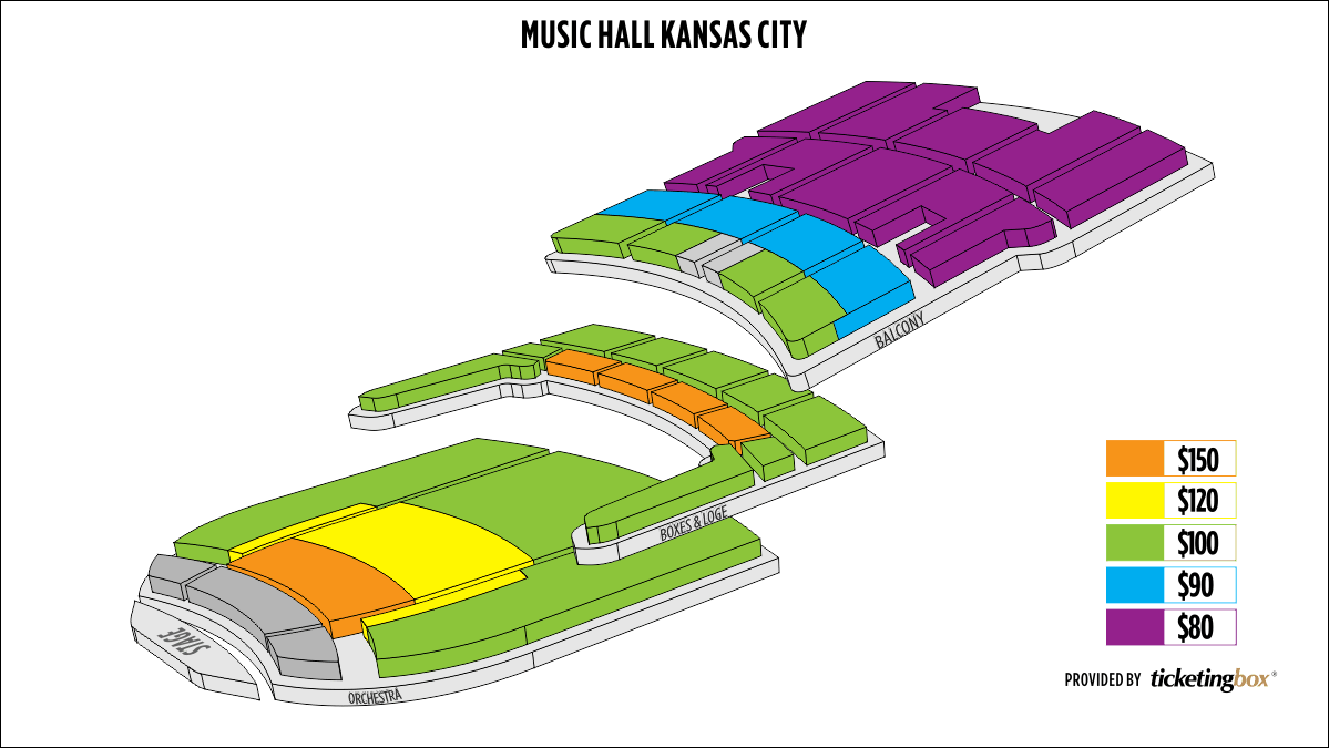 Shen Yun Kansas City Music Hall Seating Chart