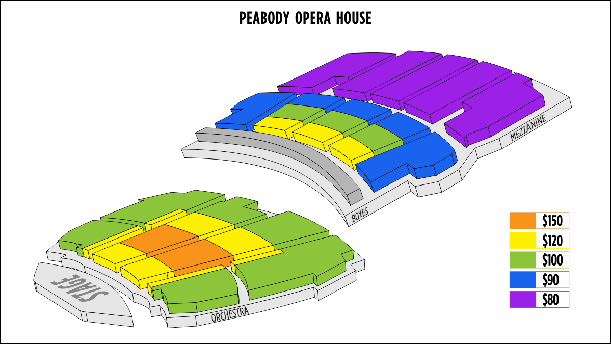 Shen Yun St. Louis Peabody Opera House Seating Chart