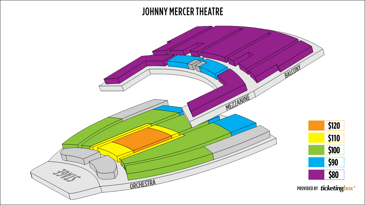 Savannah johnny mercer theatre at savannah civic center seating chart
