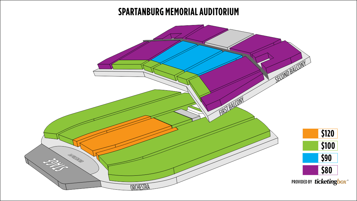 Shen Yun Spartanburg Spartanburg Memorial Auditorium Seating Chart
