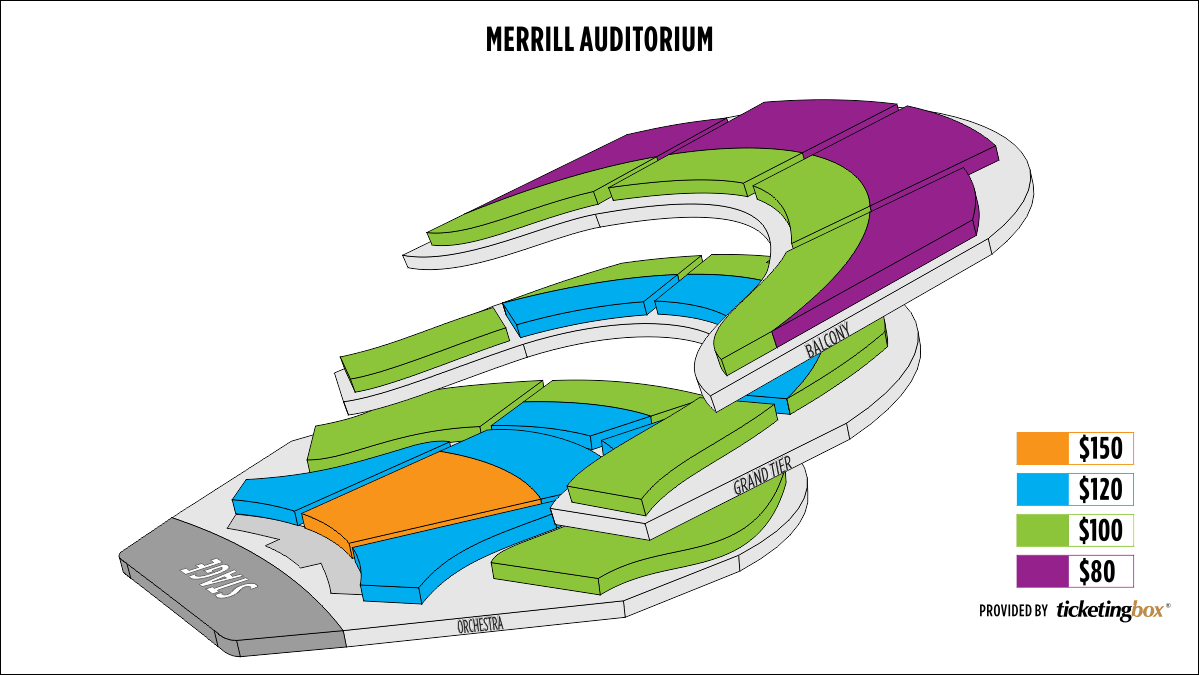 Shen Yun Portland Merrill Auditorium Seating Chart