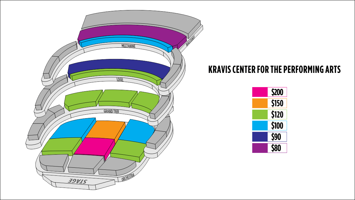 Shen Yun West Palm Beach Kravis Center for the Performing Arts–Dreyfoos Hall Seating Chart