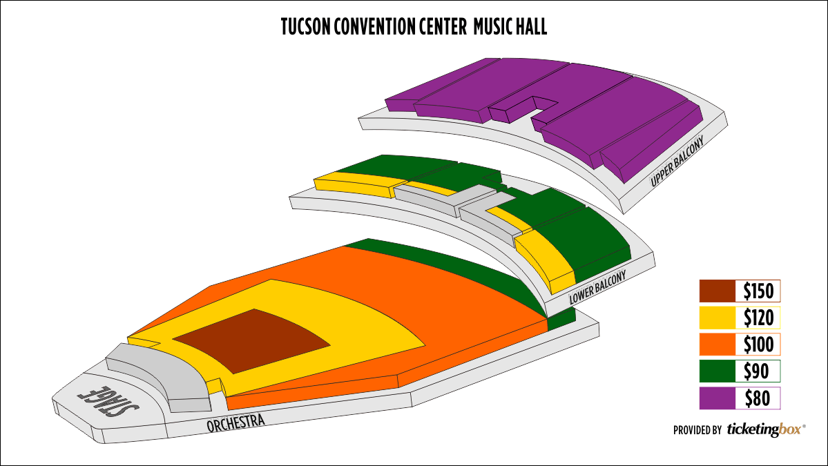 Shen Yun Tucson Tucson Music Hall Seating Chart