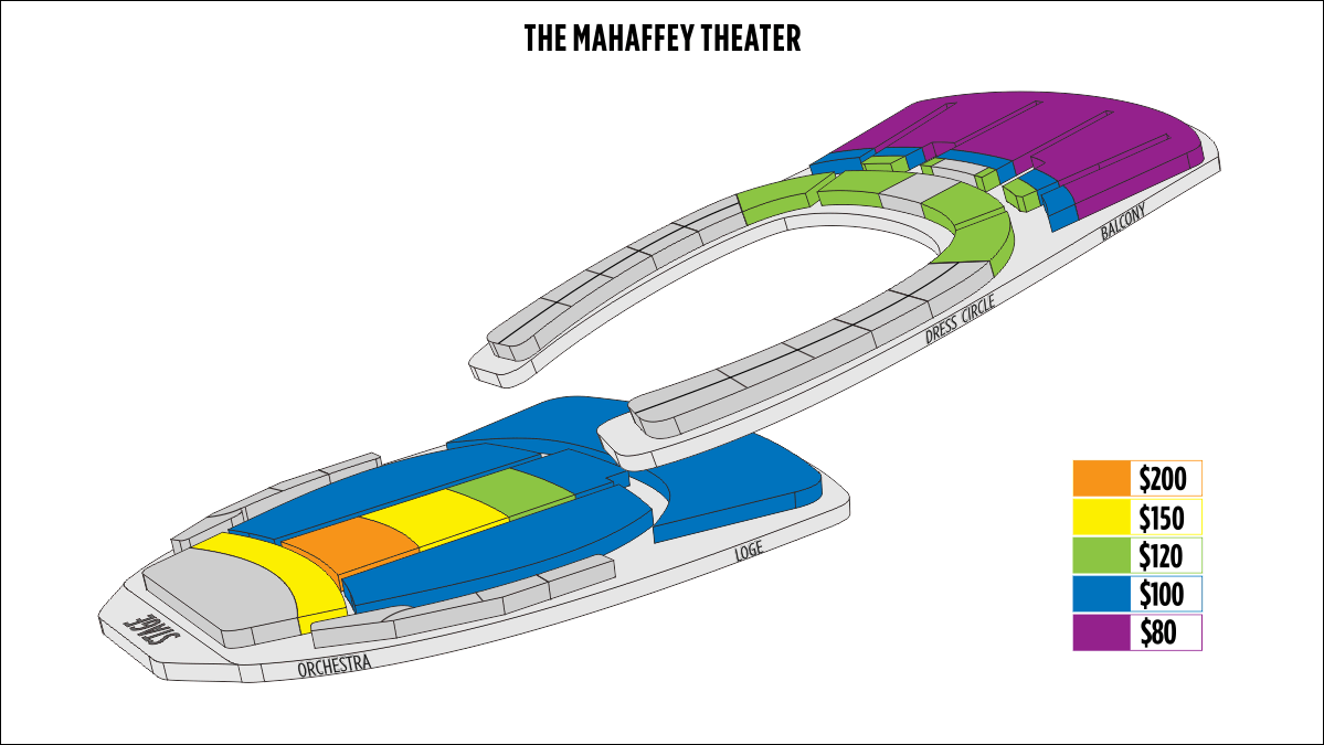 Shen Yun St. Petersburg Mahaffey Theater Seating Chart
