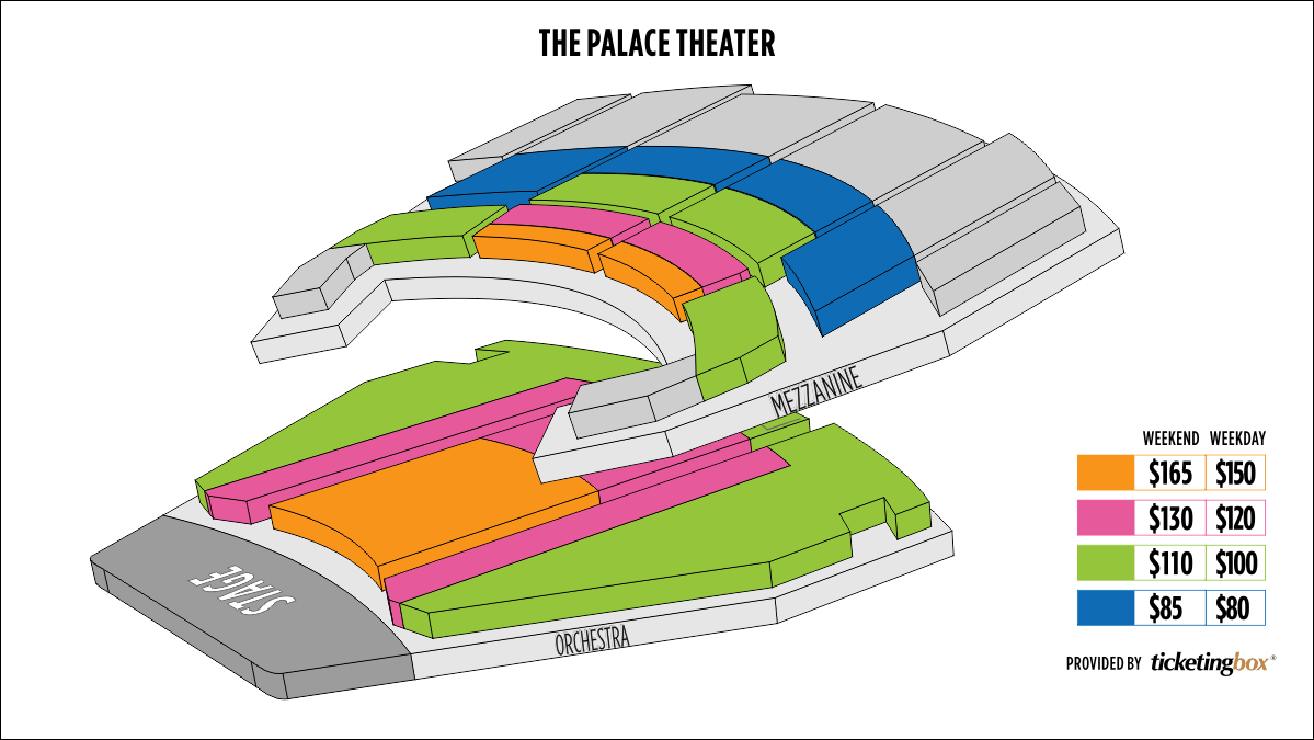 Shen Yun Stamford Palace Theater Seating Chart