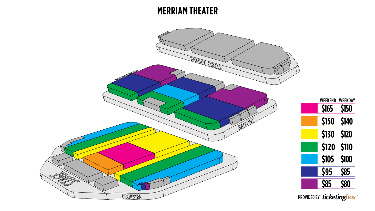 Shen Yun Philadelphia Merriam Theater Seating Chart