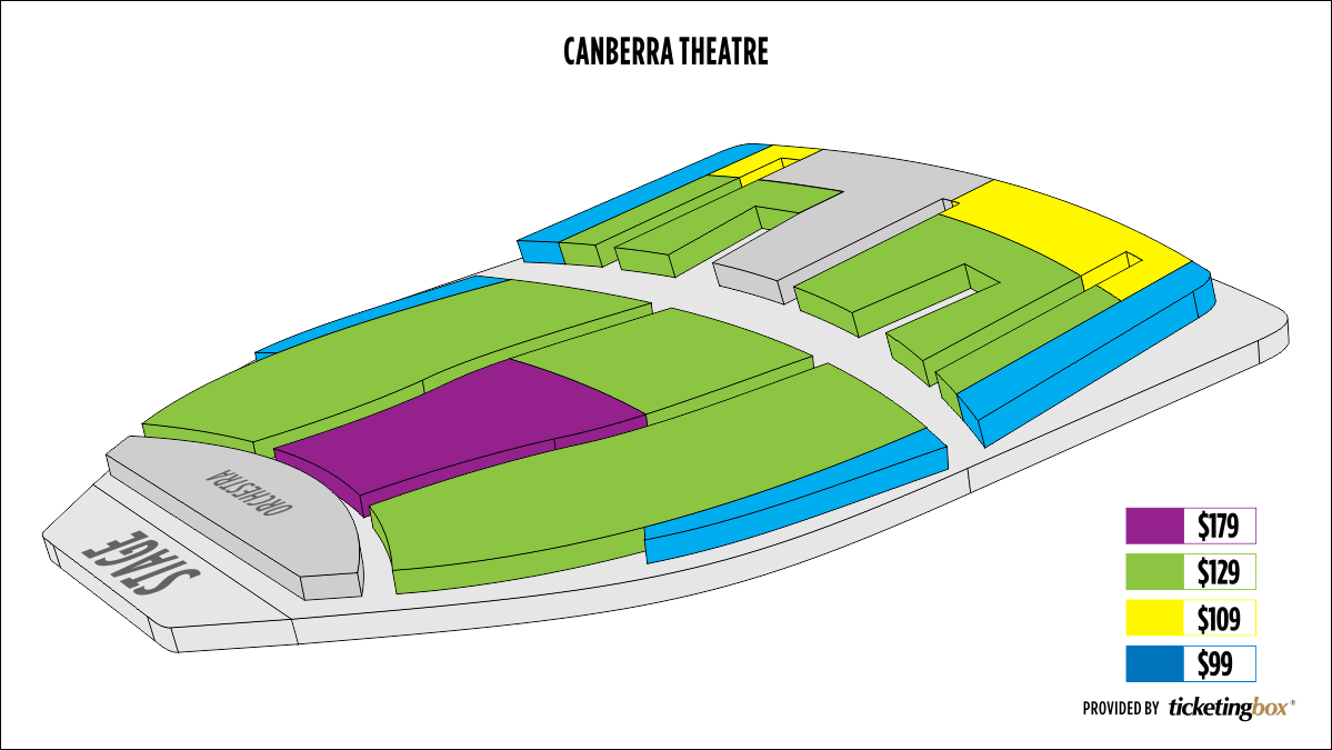 Shen Yun Canberra Canberra Theatre Seating Chart