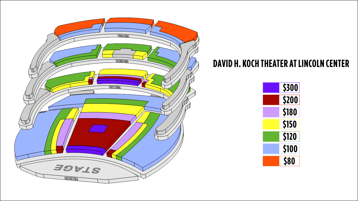 Koch Theatre Seating Chart Microfinanceindiaorg. New York The David H Koch Theater Seating Chart At Lincoln Center. Lincoln. Lincoln Theatre Seating Diagram At Scoala.co