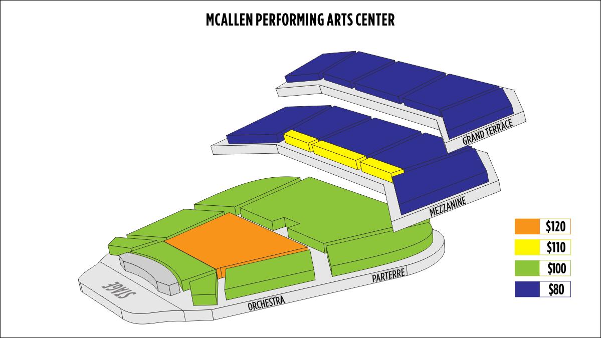 Shen Yun McAllen McAllen Performing Arts Center Seating Chart