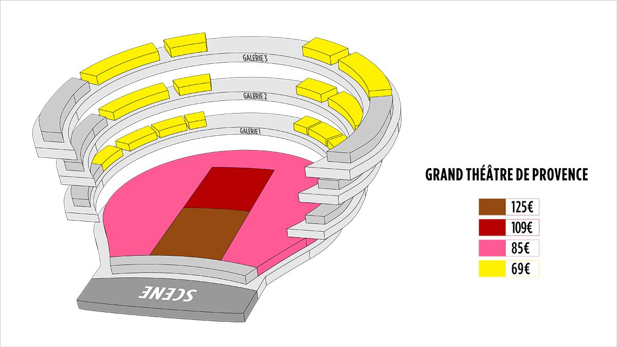 Shen Yun Aix-En-Provence Grand Theatre de Provence Seating Chart