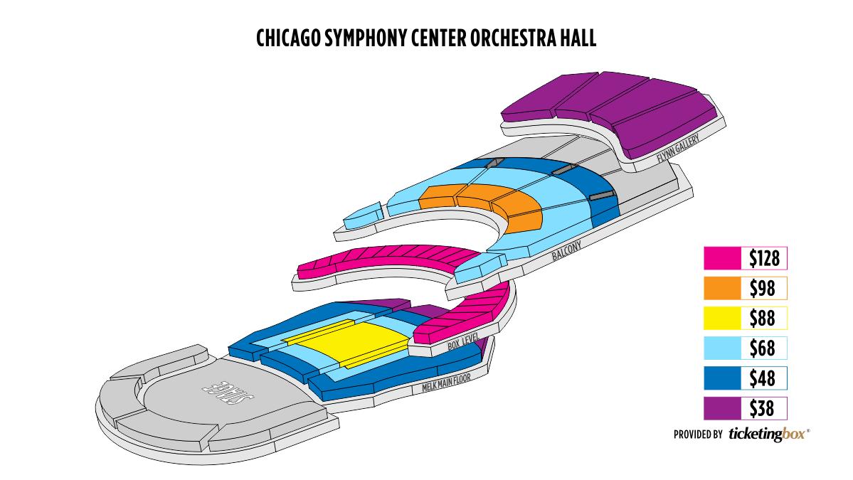 Symphony Center Orchestra Hall Chicago