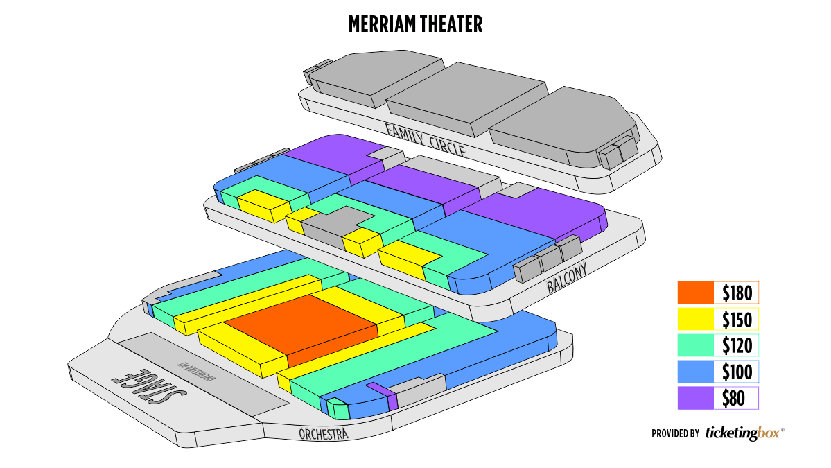 Shen Yun Philadelphia The Merriam Theater Seating Chart