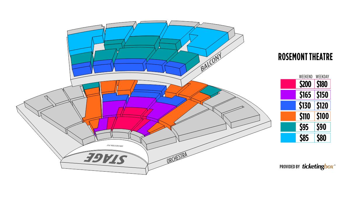 Shen Yun Rosemont Rosemont Theatre Seating Chart
