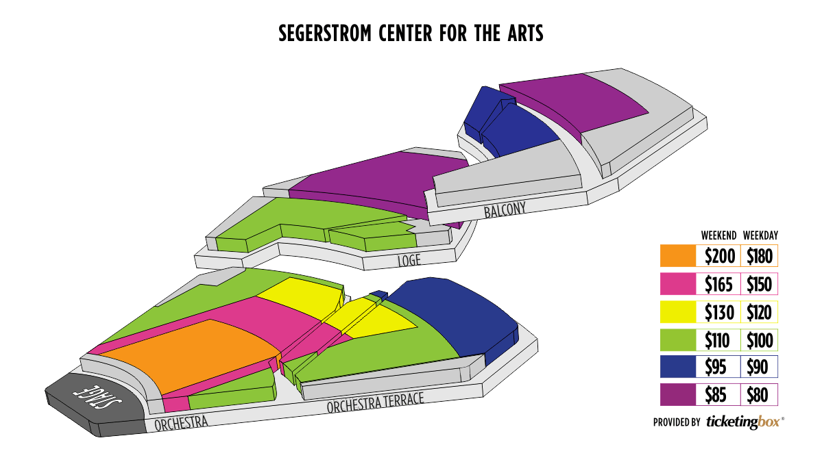 Shen Yun Costa Mesa Segerstrom Center for the Arts Seating Chart
