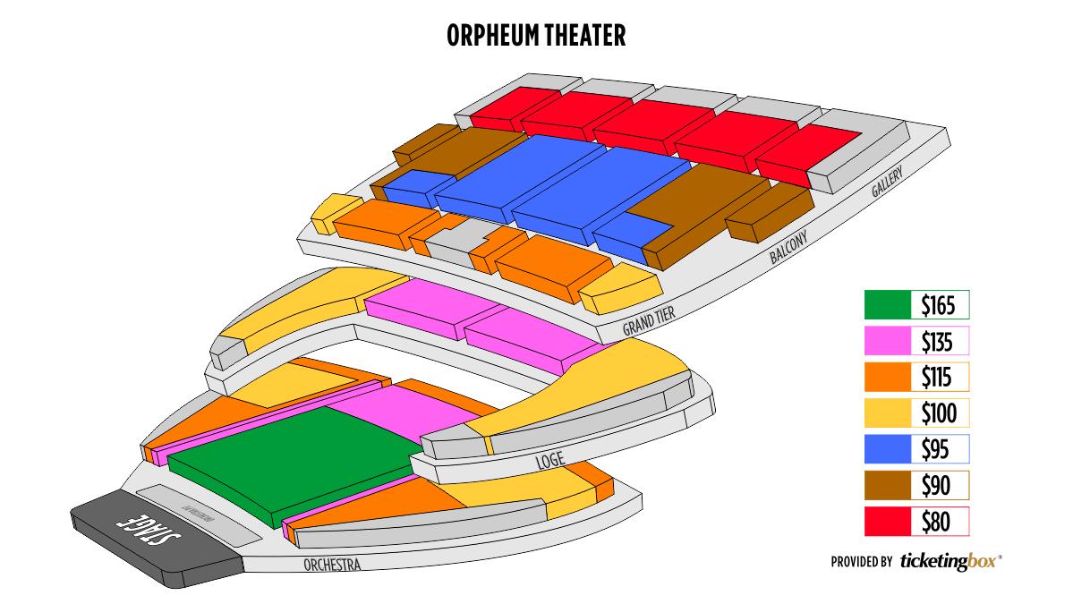 Shen Yun Omaha Orpheum Theater Seating Chart