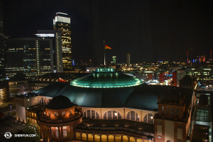Następny przystanek Frankfurt! (fot. kinooperatorka Annie Li)