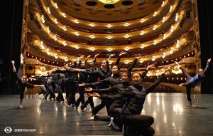 Nästan showtime i Barcelonas Gran Teatre del Liceu. (Foto av projektionist Annie Li)