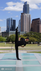 Daren Chou at The Long Center for the Performing Arts, Austin, Texas. (photo by Pierre Huang)