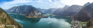 W porządku, to już ostatnie ujęcie z Hallstatt, Austria. (fot. kinooperatorka Annie Li)