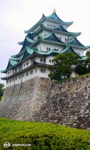 Le château de Nagoya a été construit en 1612. Une grande partie du château a été détruite par le feu pendant les attaques aériennes en 1945 et reconstruite ensuite à la fin des années 1950. (Photo par le danseur Ben Chen)