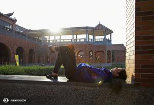 Également connu comme le lieu où la première danseuse Erin Battrick a fait une fois une petite sieste. (Photo par la danseuse Stephanie Guo)