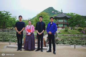 Ogrody wewnątrz pałacu Gyeongbokgung. (fot. Jun Liang)