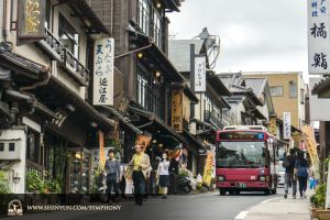And, before leaving, the company got a taste of Tokyo life. (photo by TK Kuo)