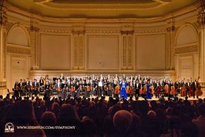 10月15日のカーネギー・ホールでの二回公演はどちらもスタンディング・オベーションと3曲のアンコールで幕を閉じた。