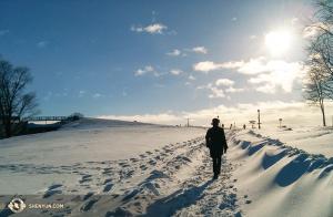 그 사이, 캐나다 퀘벡과 오타와에서는 기온이 '화씨'로 마이너스를 기록했다. 감히 밖으로 나가거나 스트레칭을 하려는 사람은 없을 것이다.