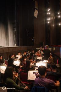 Das Orchester der Shen Yun World Company bei Proben vor dem Auftritt in Ottawa. (Foto: Ben Chen)