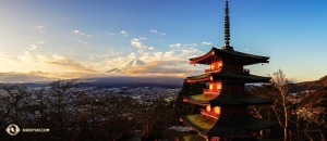 對於神韻紐約藝術團的成員來說,日本有太多來不及捕捉的美景。