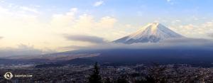 Kolejne ujęcie Góry Fudżi. (fot. Kenji Kobayashi)