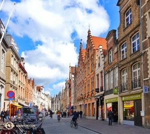 Les rues de Bruges. (Photo du danseur Joe Huang)