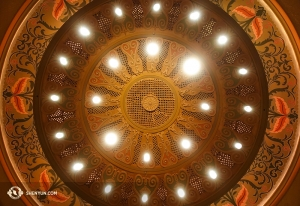 L'architecture mauresque du Granada Theatre de Santa Barbara. (Photo d'Annie Li)